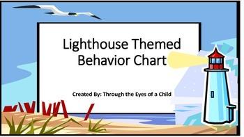 Beach theme Behavior Chart - Light House!