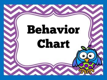Behavior Clip Chart | Clip Chart | Kindergarten Clip Chart