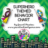 Superhero Theme Behavior Chart (Superhero Behavior Chart)