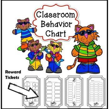 Behavior Management System (Behavior Management Clip Chart System)