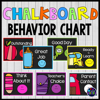 Behavior Chart Clip Cards