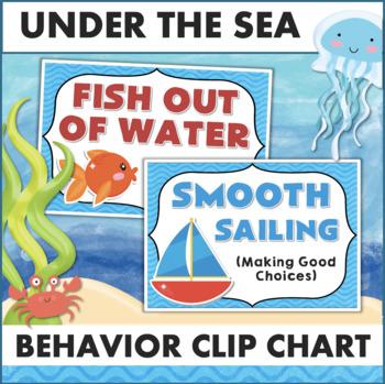 Behavior Chart - Ocean Theme Clip Chart