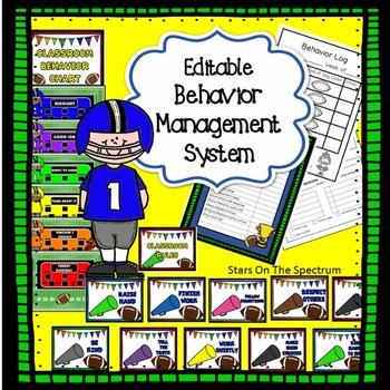 Behavior Chart * Behavior Management System
