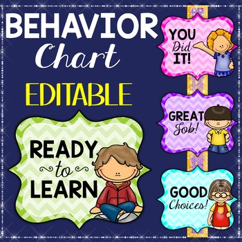 Behavior Chart Editable