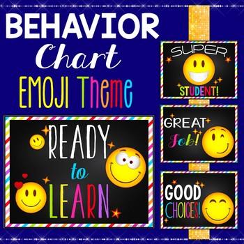 Behavior Chart For Kindergarten