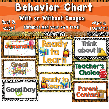 Behavior Chart  APT-001