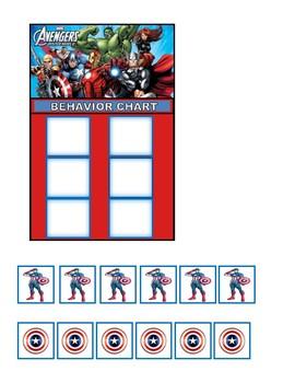 Behavior Chart (Avengers)