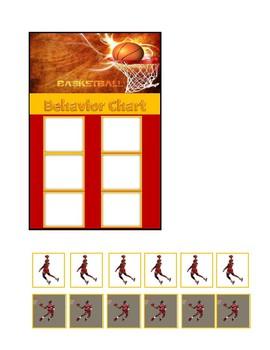 Behavior Chart (Basketball Theme)