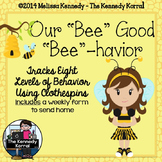 Behavior Clip Chart: Bee Girl