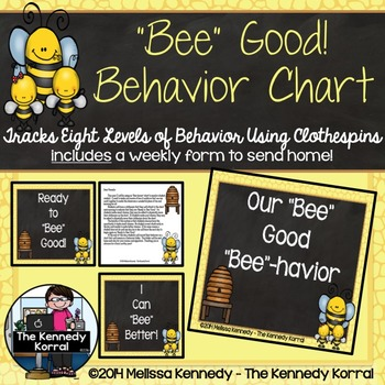 "Behavior Chart: ""Bee"" Good ""Bee""havior {Bees}"