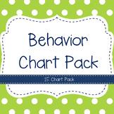 Behavior Chart Pack- 15 Charts!