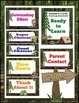Behavior Chart- Camping Theme