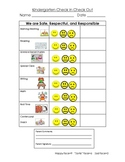 Behavior Chart Check In Check Out