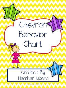 Behavior Chart- Chevron