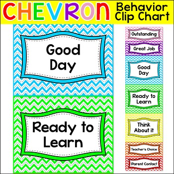 Chevron Behavior Chart