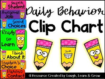 Behavior Chart {Clip Chart}