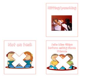 Behavior Chart Clipart