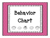 Behavior Chart (Color Coded)