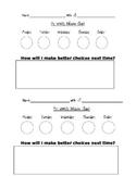 Behavior Chart- Color Stoplight System