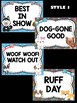 Behavior Chart -  Cute Dogs Theme Behavior Clip Chart, Puppies, Dog