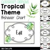 Behavior Chart Display Tropical Glamour Theme