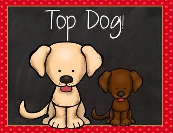 Behavior Clip Chart: Dogs