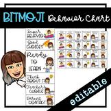 Behavior Chart   Editable Clip Chart   Bitmoji