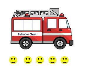 Behavior Chart (FiretruckTheme)