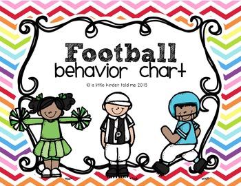 Behavior Chart- Football
