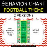Behavior Chart - Football Theme