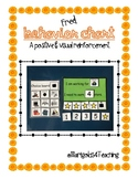 Positive Reinforcement Visual Behavior Chart Freebie