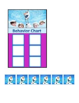 Behavior Chart (Frozen)