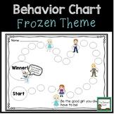 Behavior Chart- Frozen Inspired