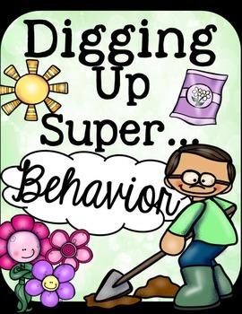 Behavior Chart- Garden Theme
