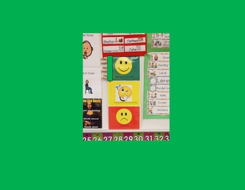 Behavior Chart- Green, yellow and red- 1 of 3