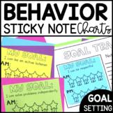 Daily Behavior Chart Sticky Notes