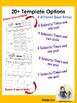 Behavior Chart: Individual Student *Editable*
