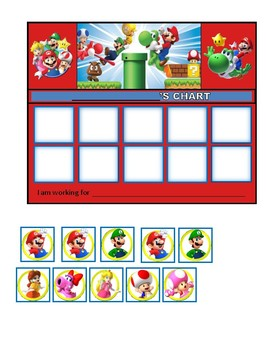 Behavior Chart (Mario)