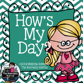 Behavior Clip Chart: How's My Day?