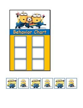 Behavior Chart (Minions)