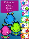 Behavior Chart (Monster Theme)