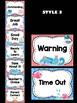 Behavior Chart - Nautical Whales Theme Behavior Clip Chart