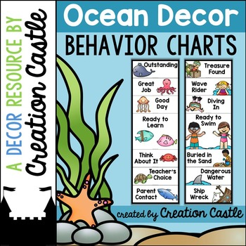 Behavior Chart - Ocean Decor