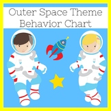 Behavior Chart Outer Space   Outer Space Classroom Theme   Behavior Chart