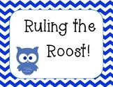 Behavior Chart - Owl Theme