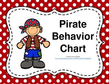 Behavior Chart Pirate Theme
