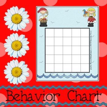 Behavior Chart: Pirates 1
