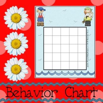 Behavior Chart: Pirates 2