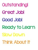 Behavior Chart Printouts