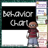 Classroom Management Behavior Chart